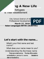 3-27,_Albany - Presentation