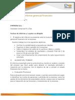 Plantilla Word Informe gerencial Financiero