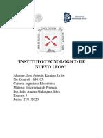 Ramirez Uribe-Examen U3