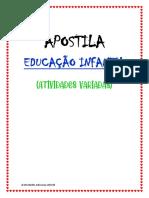 APOSTILA ATIVIDADES VARIADAS EDUC. INFANTIL.pdf