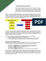 Identifying Organizing Principles