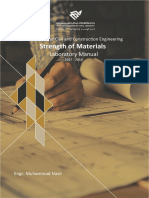 Strength of Materials Laboratory Manual
