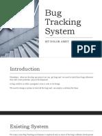 Bug Tracking System