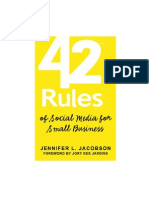42 Rules of Social Media
