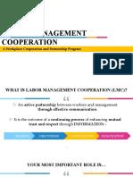 MODULE ver2 - Labor Management Cooperation