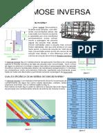 sistema filtros domestico-osmose-inversa