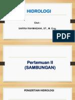 PERTEMUAN II SIKLUS HIDROLOGI (TAMBAHAN).pdf