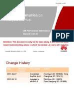 LTE Data Transmission Analysis Manual.ppt