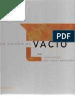 Joan Roca La cocina al vacio