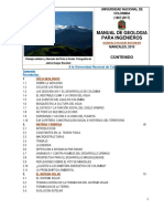 Manual de geología para ingenieros.