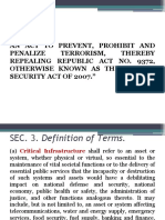 Anti Terrorism Act of  2020