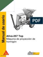 Manual AL-257 Top Electrica