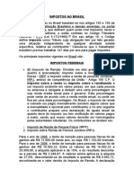 Impostos Brasileiros Básicos