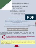 Cap 4- Ambiente Das Organizações
