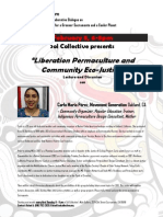 Liberation Permaculture Event Flyer