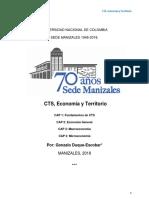 CTS, Economía y Territorio