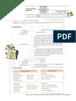 Carta - estrutura e fórmulas