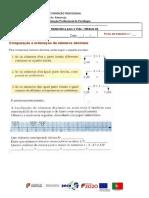 comparação e representação de numeros decimais