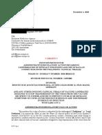 Wodarg Yeadon EMA Petition Pfizer Trial FINAL 01DEC2020 en Unsigned With Exhibits