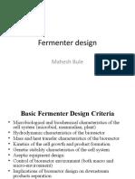 Fermenterdesign