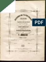BORRERO - Cavatina de tiple - e la opera I Lombadi de Verdi