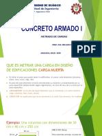 13) METRADO DE CARGAR AREA TRIBUTARIA 2020