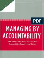 Managing by Accountability
