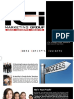 ICI Marketing Group Sales Book