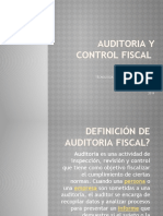 AUDITORIA Y CONTROL FISCAL