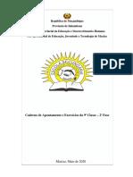 9a Classe - Caderno Final de Apontamento e Exercicios - Maio 2020