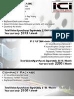 ICI Marketing Group Price List
