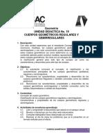 UNIDAD DIDACTICA No.19 CUERPOS GEOMETRICOS