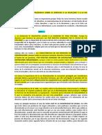 ANALISIS DE LA JURISPRUDENCIA SOBRE EL DERECHO A LA IGUALDAD