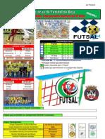 Resultados da 6ª Jornada do Campeonato Distrital da AF Beja em Futsal
