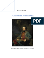 Canzone Per James Boswell