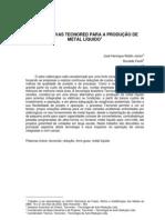 ALTERNATIVAS TECNORED PARA A PRODUÇÃO DE METAL LIQUIDO