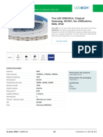 Tira LED SMD2014, ChipLed Samsung, DC24V, 5m (300Led_m), 96W, IP20