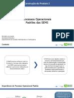 Processos Operacionais Padrão SEMS