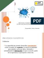 procesos cognitivos en D. Intelectual