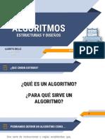 ALGORITMOS - ESTRUCTURA Y DISEÑO