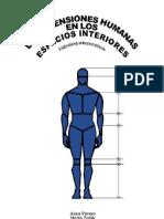 Las dimensiones humanas en los espacios interiores - Panero y Zelnik