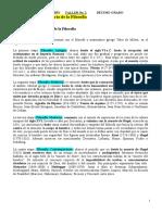INT. A LA HISTORIA DE LA FILOSOFIA