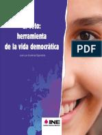 El Voto. Herramienta de la vida democrática