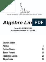Cours Algèbre Linéaire S2 Slide