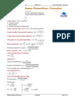 Resume Algébre Et Mathématiques Financières S2