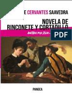 Rinconete y Cortadillo. Anotada por Julio Armaza Galdos