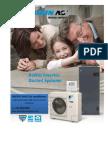 Daikin RZQ24PVJU9 Central Heating & Air conditioning system, Inverter