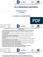 ANALISIS DE LA REALIDAD NACIONAL BIBLIOGRAFIA