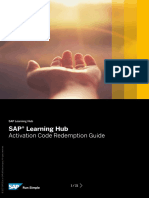 SAP-learning