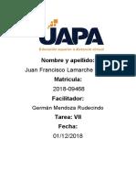 Tarea VIII Espanol I Juan